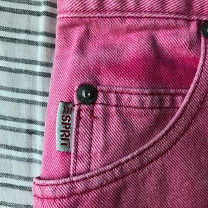 Esprit Shorts - 1980s Vintage Esprit Ombré Faded Denim Cutoffs